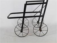 Vintage Metal Doll Stroller Frame