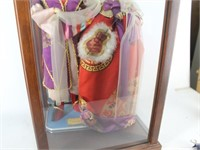 Korean Asian Wedding Dolls in Case
