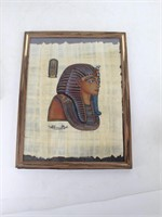 Set of 4 Egyptian Papyrus Paintings