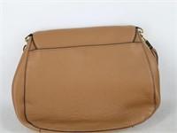 Calvin Klein Leather Striped Handbag Purse