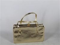 Ladies Gold Evening Handbag