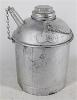 Eagle Galvanized Gas Kerosene 1 Gal Oil Can