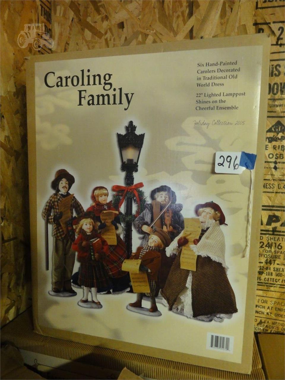 Gebraucht CAROLING FAMILY DECOR Andere Artikel Zum Verkauf   20 ...