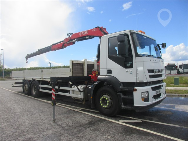 2010 IVECO STRALIS 310 at TruckLocator.ie