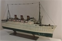 Impressive Model of RMS Empress of Britain