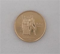 22K Gold 1976 Canadian Olympic Coin