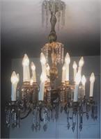 Fine 19th Century Spanish Chandelier