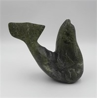 Inuit Whale Carving