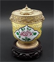 19th Century Continental Inkwell
