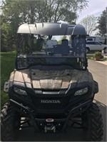 2016 Honda Pioneer 700-4 690 NEW ROOF 5/18/21