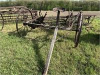 steel wheel rake