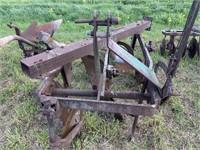 Oliver 3-bottom plow