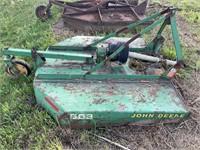 John Deere 503 chopper mower