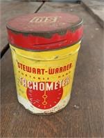 Stewart-Warner Tachometer & Tin