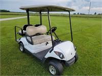 2008 Yamaha G29 Drive Gas Golf Cart. LED