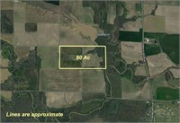 80+- Acres in Clay County, IL