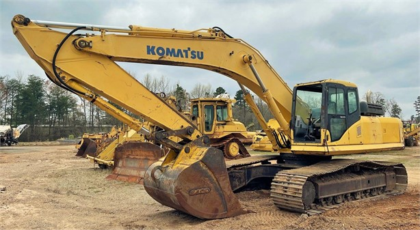 2003 KOMATSU PC300 LC-7