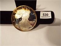 1997 One Pound Fine Silver Coin