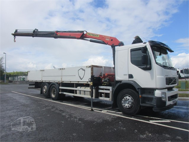 2008 VOLVO FE320 at www.firstchoicecommercials.ie
