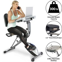 Exerpeutic Fully Adjustable Desk Exercise Bike