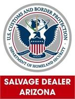 U.S. Customs & Border Protection (Salvage) 6/7/2021 Arizona