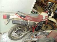 1984 Yamaha XT25 Dirt Bike