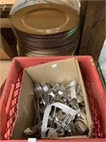 ISUZU BOX TRUCK-TABLES-SHELVING-PARTY SUPPLIES-DISHES & MORE