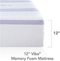 Queen Vibe Gel Memory Foam 12-Inch Mattress