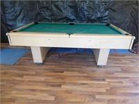 C.L. Bailey Co. pool table - 7' - one piece slate