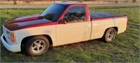 Lot 12 - 1992 Chevy Silverado Drag Truck