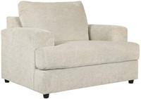 Ashley, Soletren Modern Chenille Oversized Chair