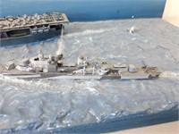 WWII Diorama - Battle at Sea (No Ship)