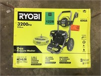 Gas Pressure Washer and 15'' Surface Cleaner