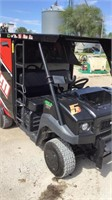 Mule 4010 EPS pit buggy with HRP  conv. Tool box