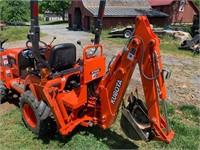 Kubota BX22 4x4 Tractor Loader Backhoe - 906 hrs