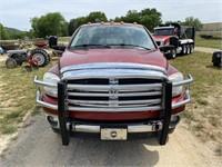 2006 DODGE RAM 3500 4X4 DIESEL TRUCK