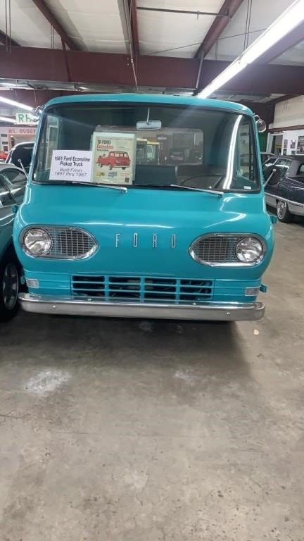 1961 Ford Econoline pickup  Built from 1961 thur