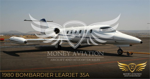 1980 LEARJET 35A at www.aboutmoneyaviation.com