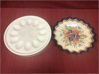 Online Only art pottery & glass, primitives, Asian June 20