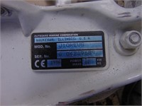 JOHNSON 9.9 OUTBOARD BOAT MOTOR, TANK, GAS LINE