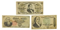 A 2nd 3 Different Fractional Currency
