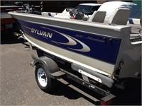 2001 Sylvan 1600 Adventurer boat w/ Mercury 60 H