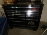 Black Mac Edge toolbox locked