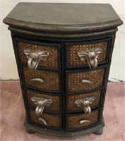 Lane African Chest of Drawers