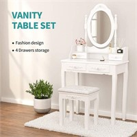 Mecor Vanity Table Set