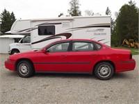 2000 GM IMPALA VEHICLE