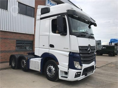 2017 MERCEDES-BENZ ACTROS 2548 at TruckLocator.ie