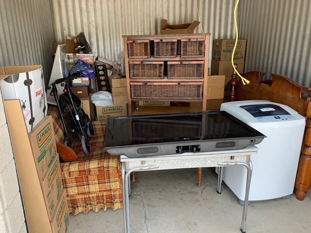 Full Storage Unit Burlington Auction