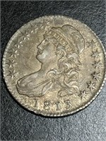 1813 US Capped Bust 50 Cent Piece
