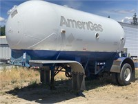 Liquid Propane Tanker Trailer